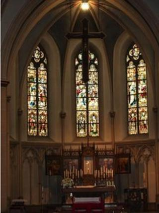 Catholic church in Emsdetten, Germany