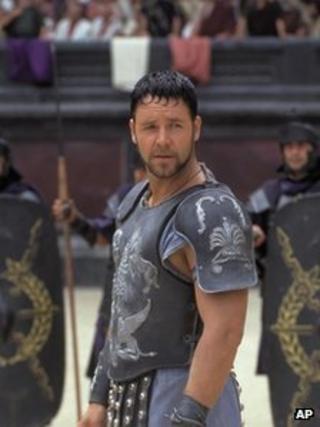 Scene from the film Gladiator