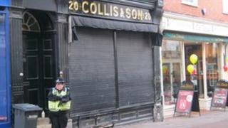 Collis & Son jewellers, Bury St Edmunds