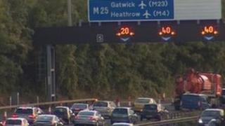 M25 closure
