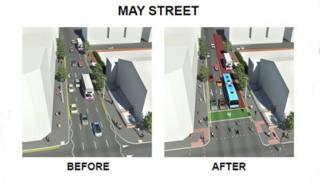 May Street before and after