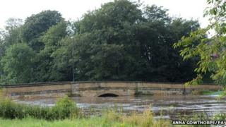 Bridge over the River Wharfe at Tadcaster. Picture: PA