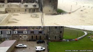 Footdee before and after