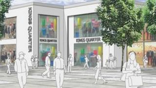Kings Square, artist's impression