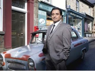 Sanjeev Bhaskar in The Indian Doctor in Blaenavon