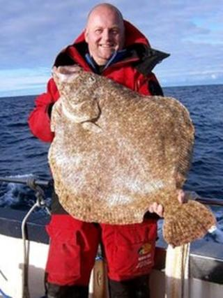 Robert McMillan and turbot