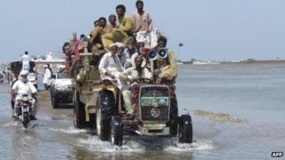 Flooding in Pakistan (13 September 2012)