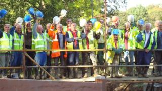 Wey and Arun Canal workers