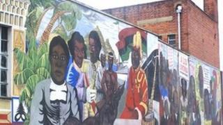 Central Club mural