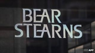 Logo of Bear Stearns