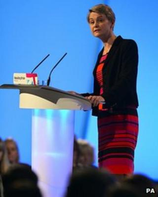 Shadow home secretary Yvette Cooper