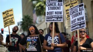 Student debt campaign