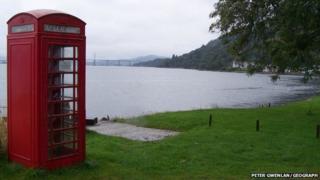Phone box at Kilmuir