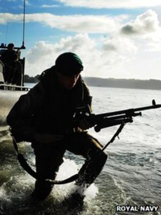 Royal Marines, Cougar 12 exercise