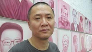 Artist Zhang Bingjian