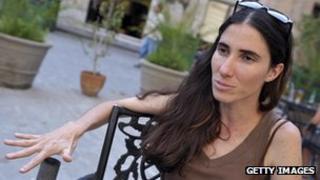 Yoani Sanchez photographed on 7 May 2008