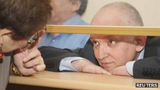 Vladimir Kozlov, leader of the unofficial Alga! party