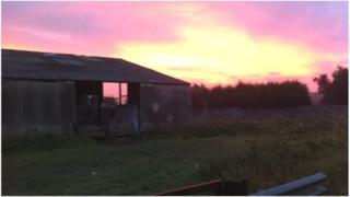A farm near Peterborough