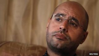 Saif al-Islam Gaddafi (file photo)