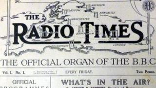 First edition of Radio Times