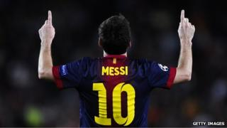 Messi, footballer