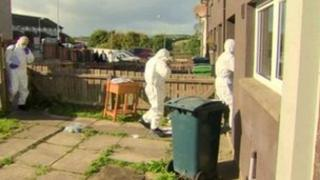 Experts enter house where woman died