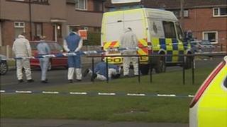 Scene of Carlisle stab murder