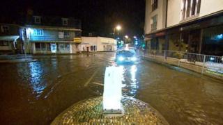 Flooding in Kingsbridge