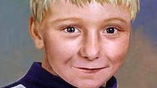 A computer-generated image of Ben Needham from 2003