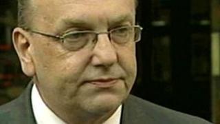 Basildon Council leader Tony Ball
