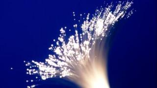 Fibre optic graphic