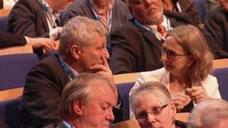 John Finnie and Jean Urquhart at the SNP conference
