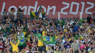 Volleyball crowd at London 2012