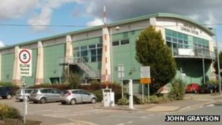 Monmouth Leisure Centre (pic: John Grayson)