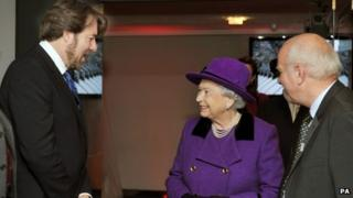 Jonathan Ross, the Queen and Greg Dyke
