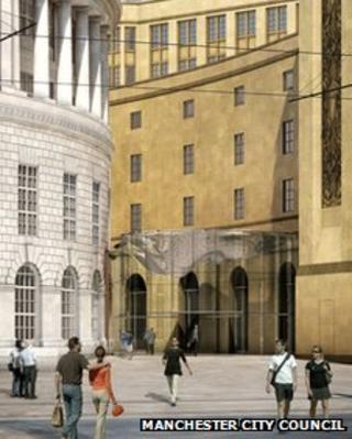 Library Walk CGI