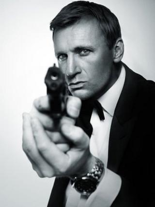 Steve Wright as Daniel Craig's James Bond