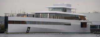 Yacht ordered by Steve Jobs