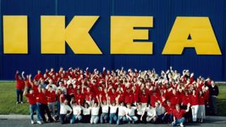 Ikea's first UK store opens in Warrington