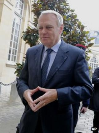French Prime Minister Jean-Marc Ayrault in Paris, 29 October