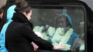 Erin Gallagher funeral