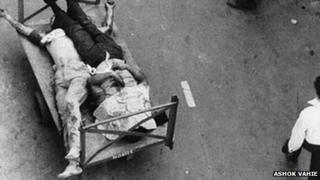 Anti-Sikh riots in Delhi in 1984