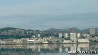 Dundee waterfront