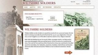 The Great War Wiltshire Soldiers website