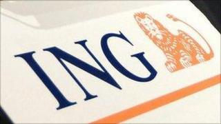 ING sign