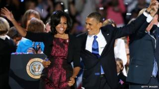 Michelle and Barack Obama