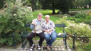 Barbara Zaliwska-Moreton and her English husband Michael Moreton