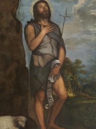 Saint John the Baptist (c.1555), Titian