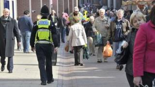 Police officer in Ipswich