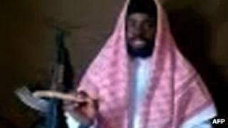 Abubakar Shekau in a Youtube video earlier this year